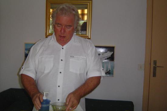 préparation des huiles de massage