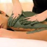 massage gel d 'algues verte